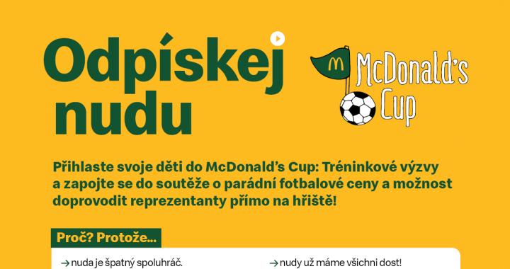 Odpískejte nudu s McDonald's Cup 2021!